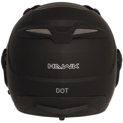 Hawk ST-1198 Transition Flat Black Modular Helmet