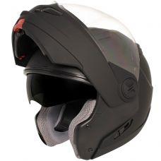 Hawk ST-1198 Transition Flat Black Modular Helm...