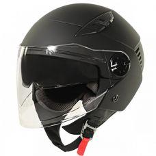 Xelement Flat Black Open Helmet