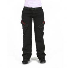 Мотоштаны женские INFLAME C20100, цвет черный