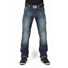 Мотоджинсы мужские INFLAME J102, цвет синий