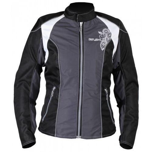 Куртка женская INFLAME ECSTASY текстиль, цвет серо-черный