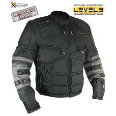 Xelement Men's Black and Gray Cordura Level-3 A...