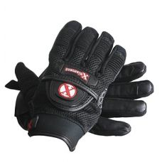 Xelement Cool Rider Black Mesh and Leather Moto...