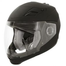 Xelement ST-559 Flat Black Open Face Helmet