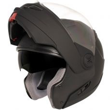 Hawk ST-1198 Transition Flat Black Modular Helm...