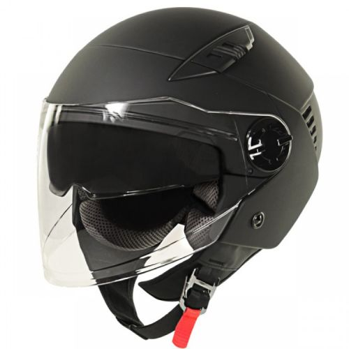 Xelement Flat Black Open Helmet