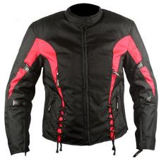 Мотокуртка женская Xelement Red Sky Tri-Tex Armored Jacket