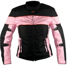 Мотокуртка женская Xelement Pink Tri-Tex Armored Jacket