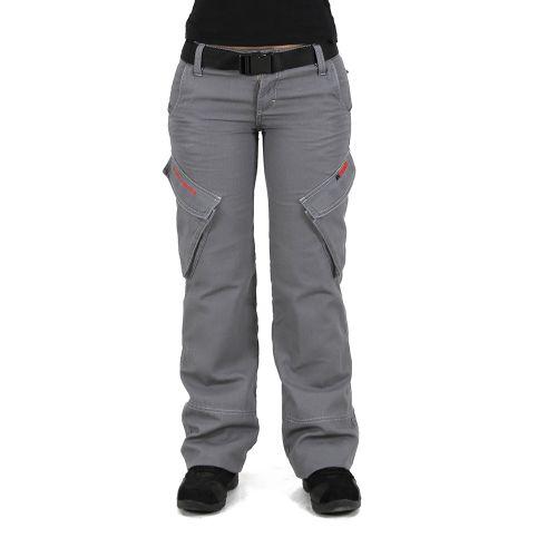 Мотоштаны женские INFLAME C20161, цвет серый