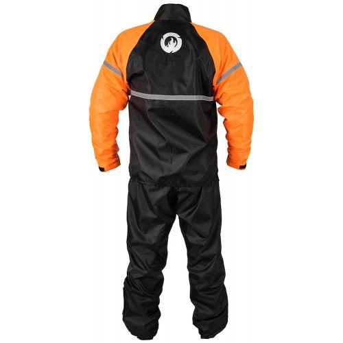 Куртка дождевика INFLAME RAIN CLASSIC, цвет черно-оранжевый