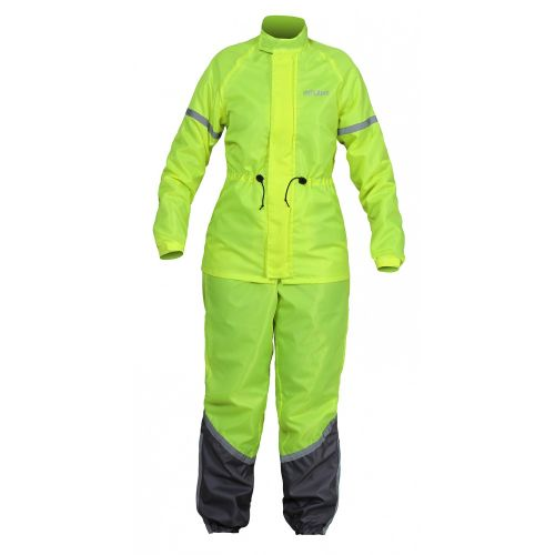 Раздельный дождевик INFLAME RAIN CLASSIC KIT WOMAN, цвет зеленый неон