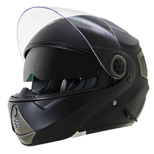 Hawk HX Series Matte Black Modular Helmet