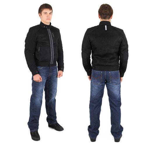 INFLAME K10100 текстиль +сетка черный