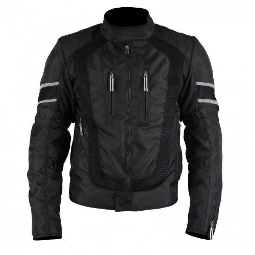 INFLAME K10300 текстиль +сетка черный
