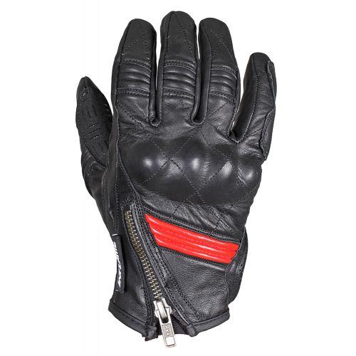 Перчатки (дорожные) мужские INFLAME BOMBER, кожа, цвет черный