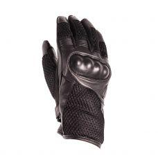 Перчатки (дорожные) женские INFLAME CAPRICE, кожа+сетка, цвет черный