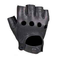 Перчатки (обрезки) мужские INFLAME CHOPER, кожа, цвет черный