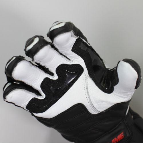Перчатки (спорт) мужские INFLAME GRENADER, кожа, цвет черно-белый