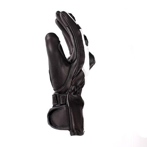 Перчатки (спорт) женские INFLAME AMAZON, кожа, цвет бело-черный