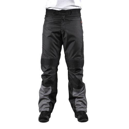 Мотоштаны INFLAME P10162 черно-серый